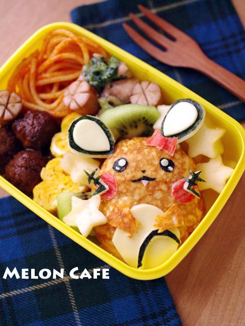 デデンネのキャラ弁当201402meloncafe