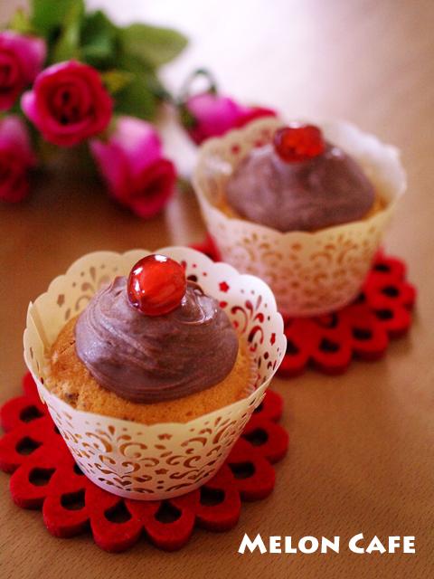 春桜のカップケーキ贈り物ホワイトデー