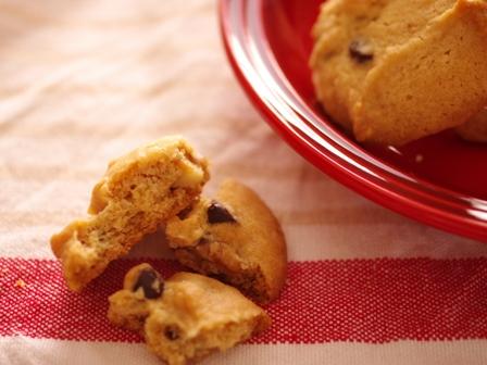 ホットケーキミックスでつくる簡単アメリカンクッキーくるみ入り01
