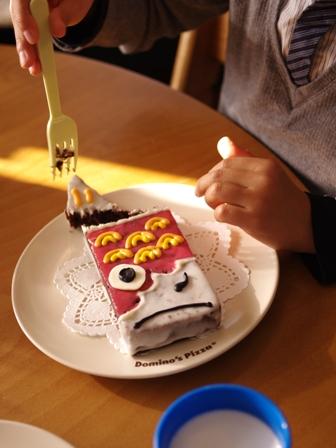 簡単こいのぼりのこどもの日ケーキ10