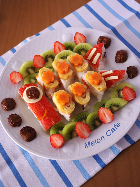 こどもの日こいのぼり寿司a