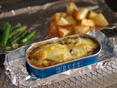 お弁当おかず簡単魚の缶詰でカレーチーズ焼き03