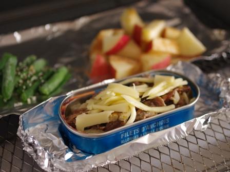 お弁当おかず簡単魚の缶詰でカレーチーズ焼き02