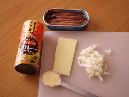 お弁当おかず簡単魚の缶詰でカレーチーズ焼き01
