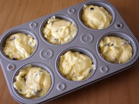 チョコバナナのカップケーキ02
