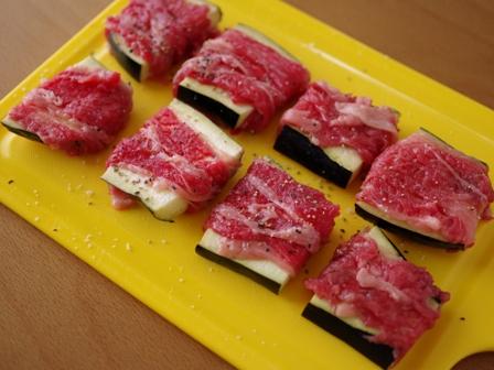 なすと牛肉のジューシー焼き02