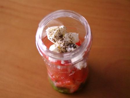 トマトまるごとマスカルポーネの冷製パスタ簡単ひんやりランチ03