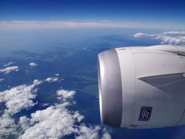 飛行機の窓から2014