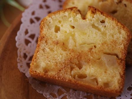 やさしい甘さりんごのパウンドケーキ01