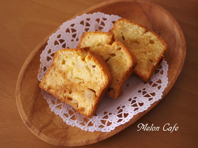 やさしい甘さりんごのパウンドケーキ06