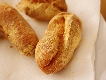給食きなこパン09