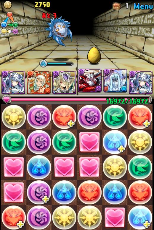 女神降臨超地獄級ハクパ攻略004