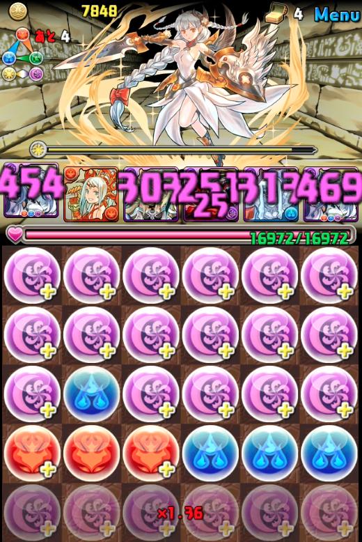 女神降臨超地獄級ハクパ攻略011