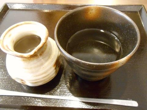 蕎麦焼酎蕎麦湯割り