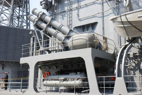 ASMと短魚雷発射管