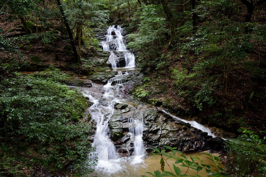 油山白波の滝