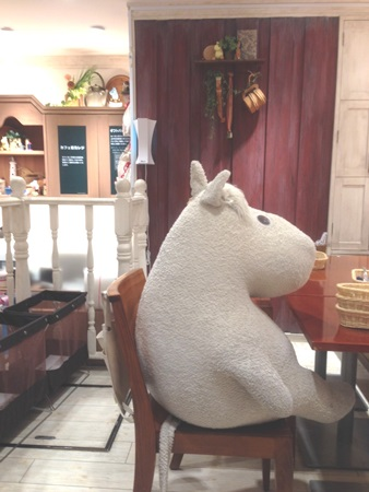 ムーミンカフェ (1)
