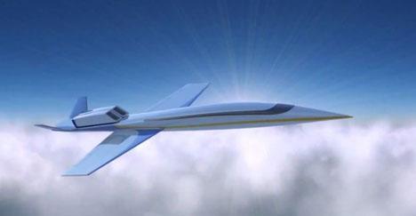次世代超音速ジェット機は、窓が全面スクリーンになると発表!