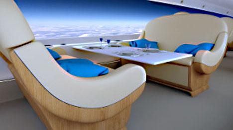 次世代超音速ジェット機は、窓が無くなり壁を全面ディスプレイへ!2