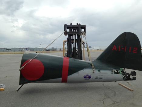 第二次世界大戦で実際に闘った本物の零戦が、米国シアトルから 9月4日横浜港へ!