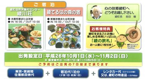 ふるさと納税でソラシドエアで行く東京〜宮崎1泊2食の旅がもらえる!2