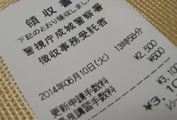 2014ー0611免許更新