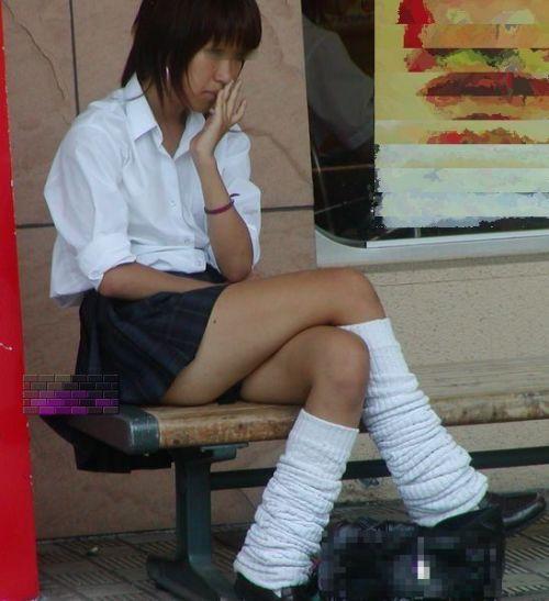 【三次画像あり】 脚がエロイ女子高生画像が集まるスレ! 54枚 part.23 No.18