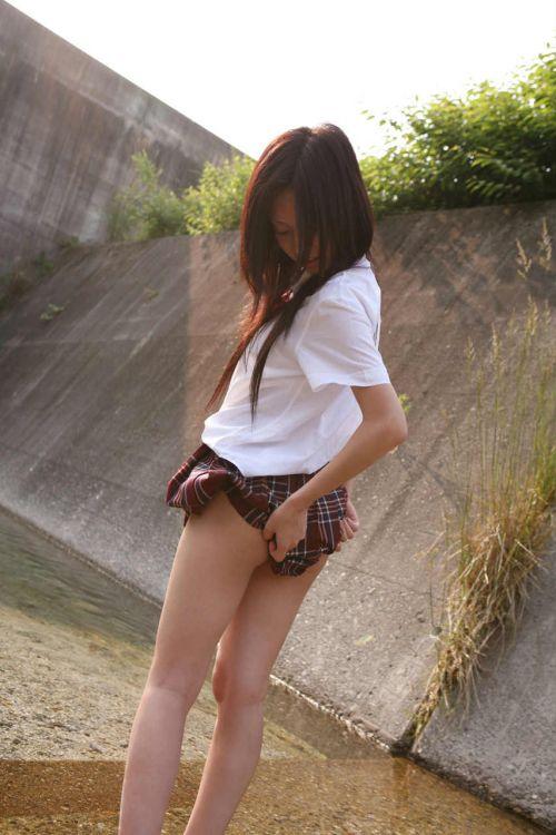 【三次画像あり】 脚がエロイ女子高生画像が集まるスレ! 54枚 part.23 No.36