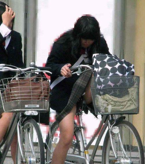 【三次画像あり】 JKがミニスカで自転車に乗ってる姿を後ろから眺めるの幸せすぎ♪ 56枚 part.13 No.52