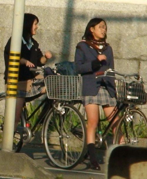 【三次画像あり】 JKがミニスカで自転車に乗ってる姿を後ろから眺めるの幸せすぎ♪ 56枚 part.13 No.54