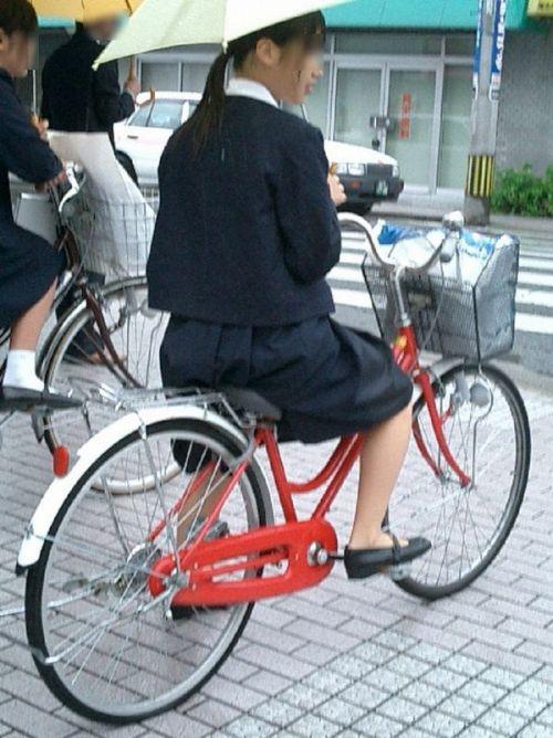 【三次画像あり】 JKがミニスカで自転車に乗ってる姿を後ろから眺めるの幸せすぎ♪ 56枚 part.13 No.56
