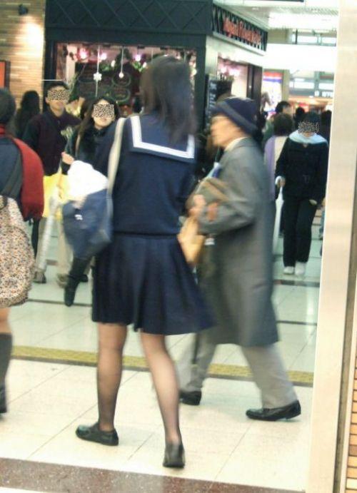 【三次・画像あり】 街で見かけた後ろ姿のJKって(*´Д`)ハァハァしちゃうよね! 54枚 part.28 No.47