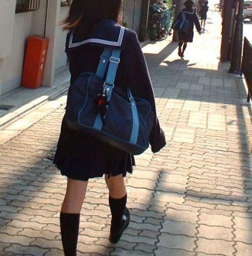 【三次・画像あり】 街で見かけた後ろ姿のJKって(*´Д`)ハァハァしちゃうよね! 54枚 part.28 No.54