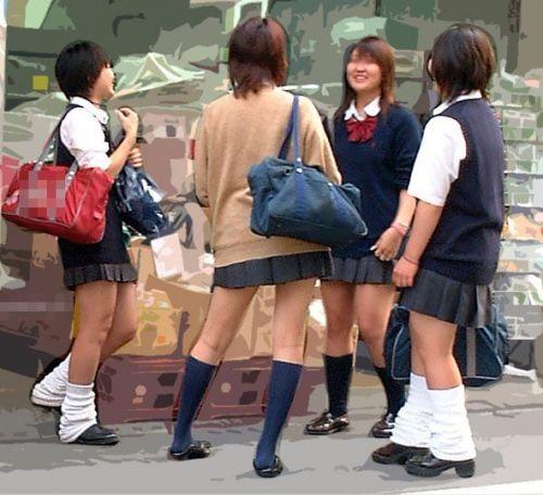 【三次・画像あり】 街で見かけた後ろ姿のJKって(*´Д`)ハァハァしちゃうよね! 52枚 part.30 No.34