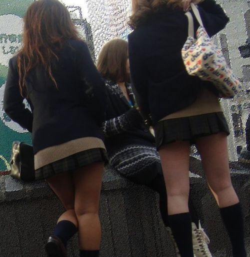 【三次・画像あり】 街で見かけた後ろ姿のJKって(*´Д`)ハァハァしちゃうよね! 52枚 part.30 No.45