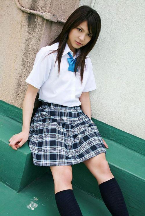 モデル系のかわいい制服姿のJK画像ください! 28枚 part.11 No.4