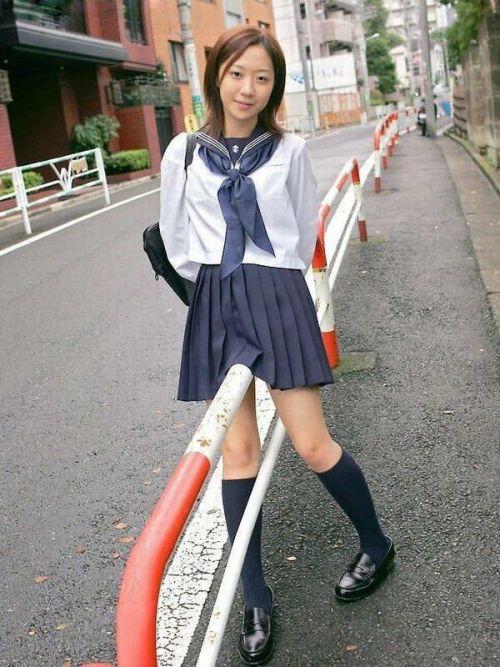 モデル系のかわいい制服姿のJK画像ください! 28枚 part.11 No.14