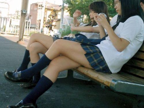 電車通学中の女子校生のエロかわいい画像が集まるスレ! 23枚 part.5 No.1