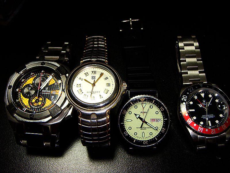 腕時計×4