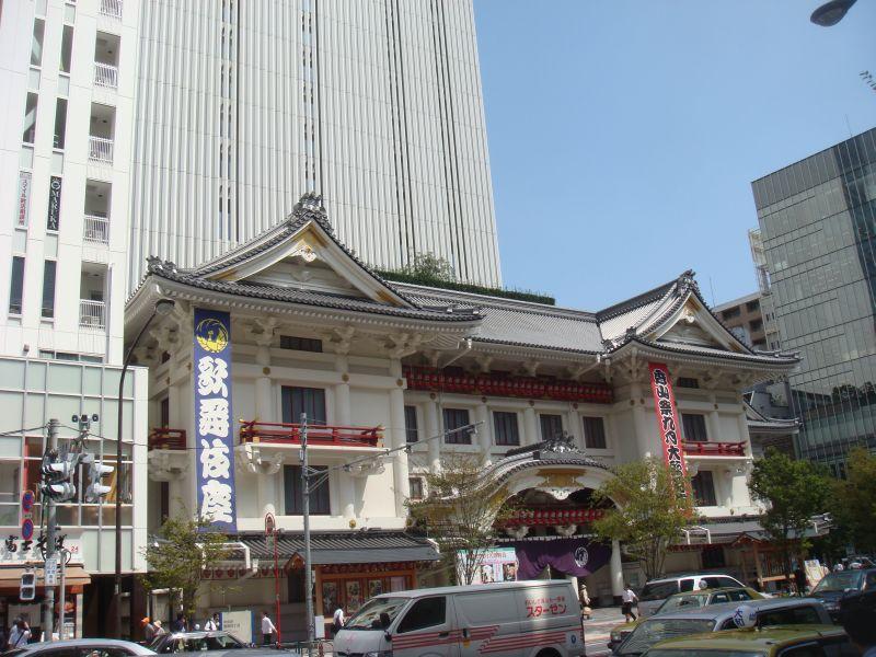 改築後の歌舞伎座