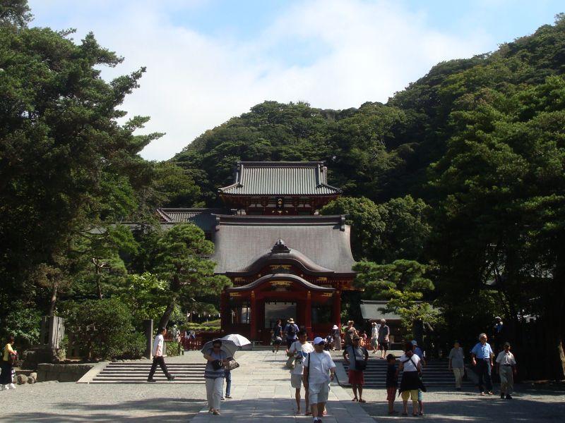 2014年夏の鶴岡八幡宮