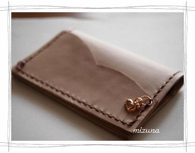 ハートのカードケース