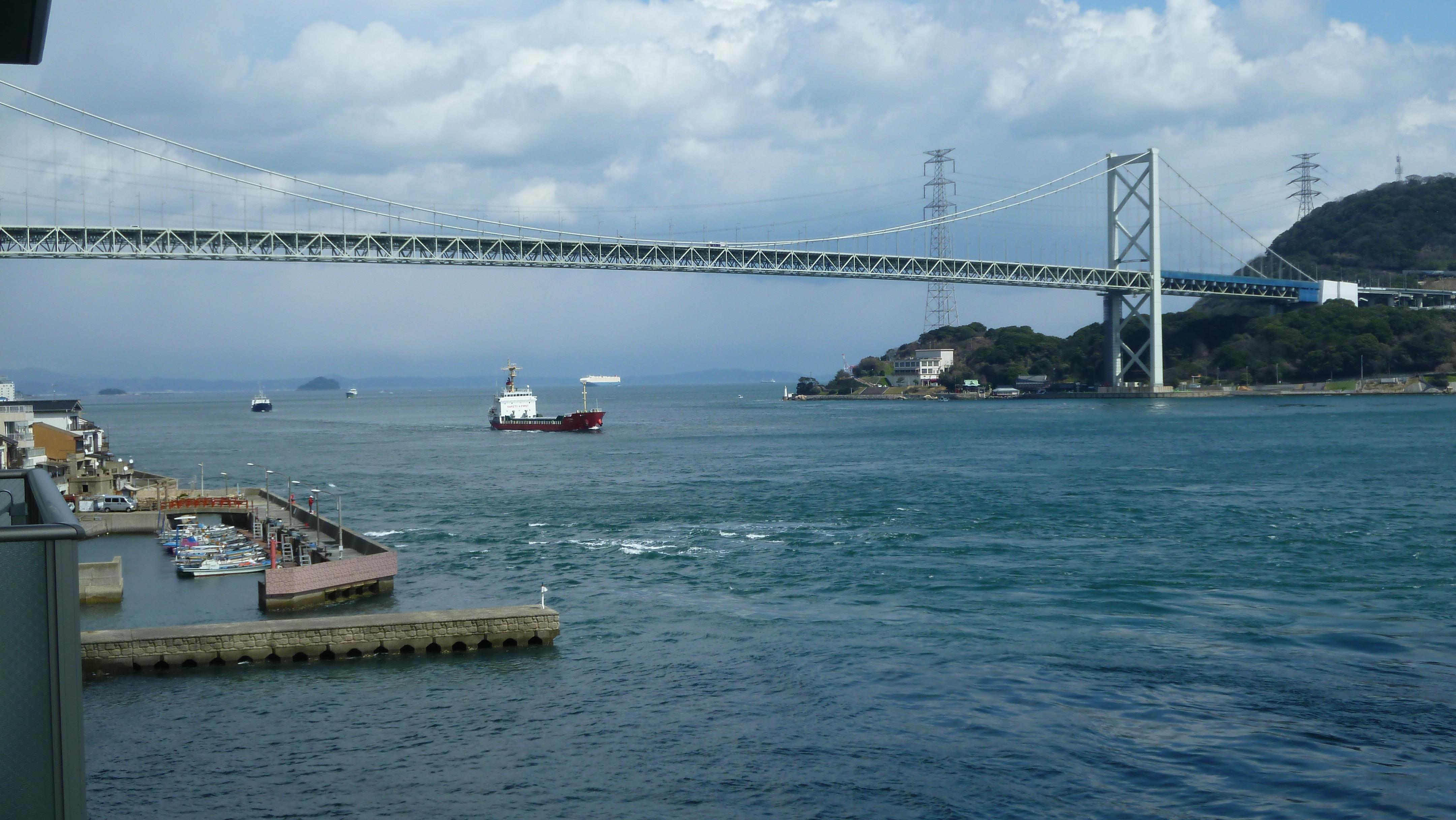 関門海峡・ツートンカラー