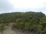 蘇武岳山頂手前