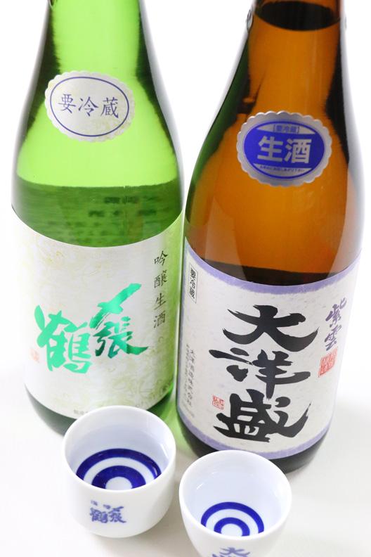 新潟村上 〆張鶴 大洋盛 生酒