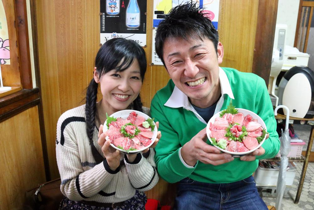 鹿児島産本マグロ脳天 頬肉 カマトロ ずど~ん 美味しいお刺身 新潟県村上市
