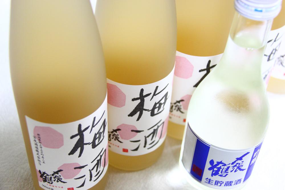 〆張鶴 梅酒 吟醸生貯蔵酒 夏 新潟村上