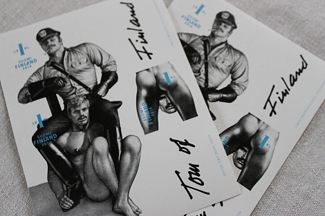Postimerkki Tom Of Finland