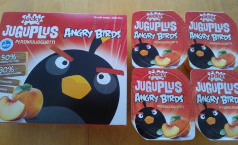 Angry Birds jougrutti アングリーバード ヨーグルト