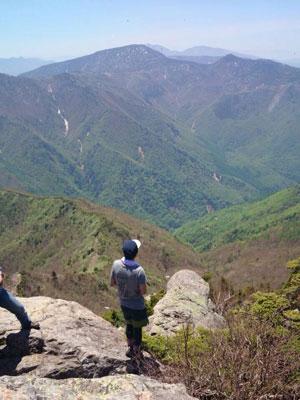 笠岳山開き10